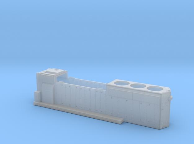 KCS796-799 GP40-2 HOOD 1/87.1 in Smoothest Fine Detail Plastic