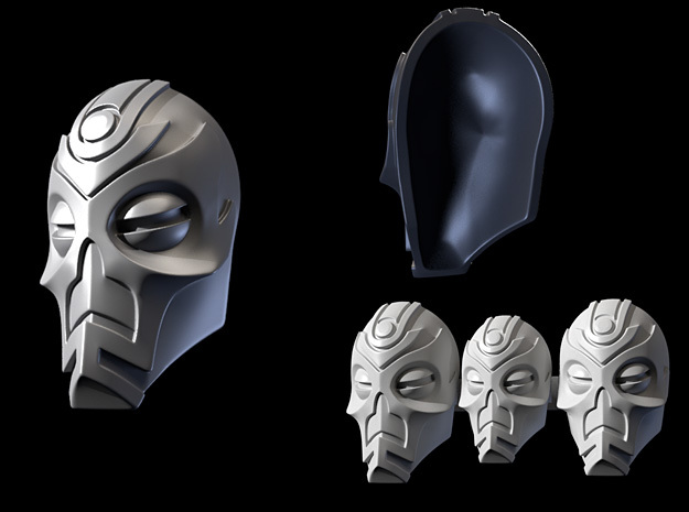 FOD-03-Fantasy Masks Pack for 6'' and 7'' Figures