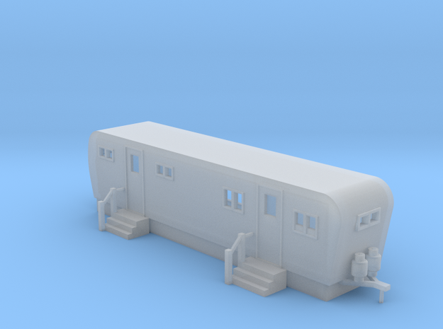 Trailer 30ft - N 160:1 Scale in Smooth Fine Detail Plastic
