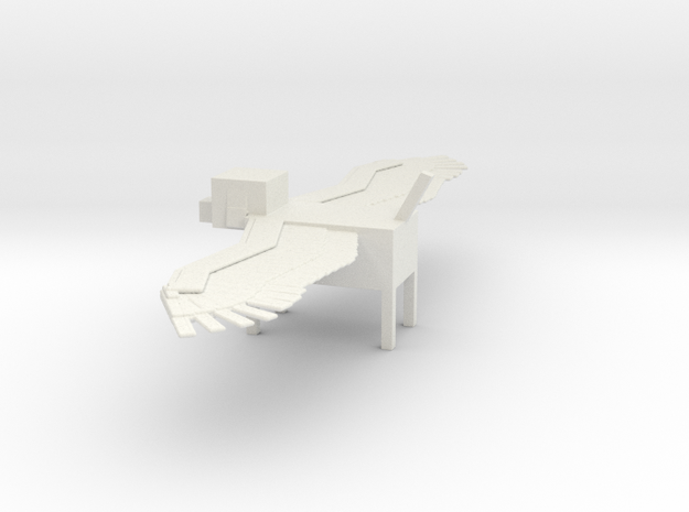 Minecraft Winged Dog in White Strong & Flexible