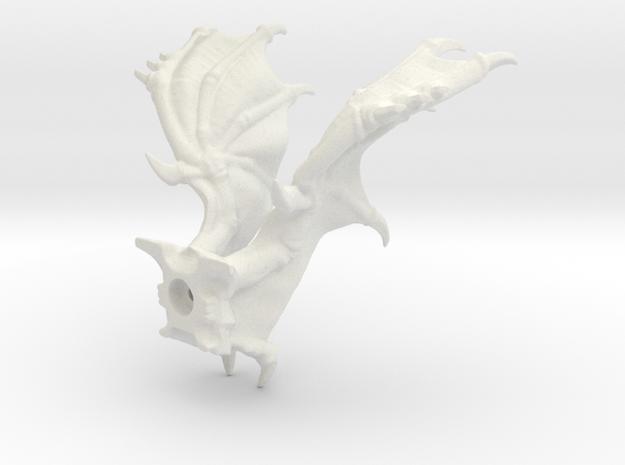 Shrike Kit Flared Wings in White Natural Versatile Plastic