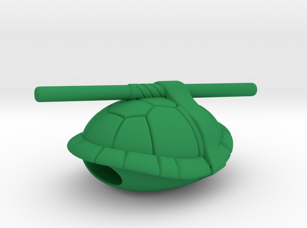 "TMNT ""Donatello"" lacelock (1 piece. Must order 2) in Green Processed Versatile Plastic"