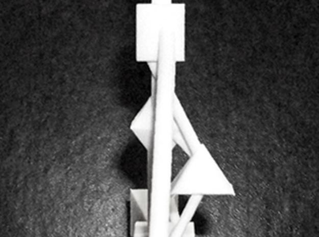 6-inch 9-Chakra Body-Graph 3d printed