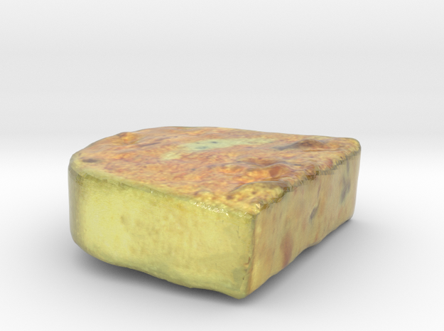 The Terrine-mini in Glossy Full Color Sandstone