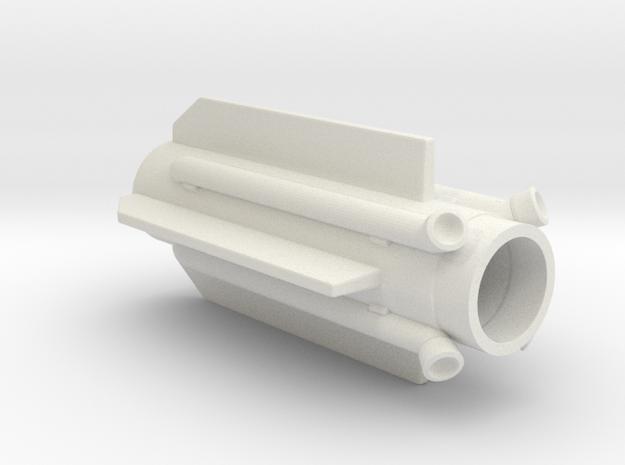 40K IG Manticore Missile Middle in White Natural Versatile Plastic