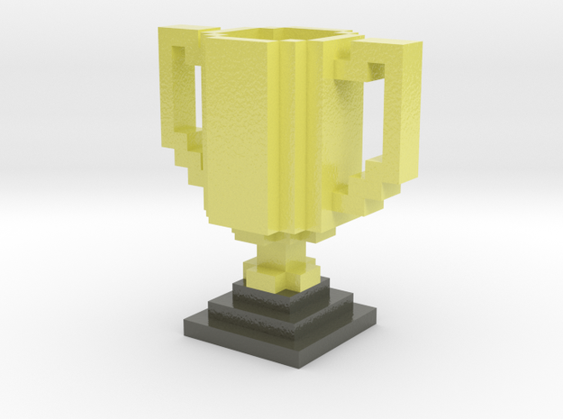Trophy in Glossy Full Color Sandstone