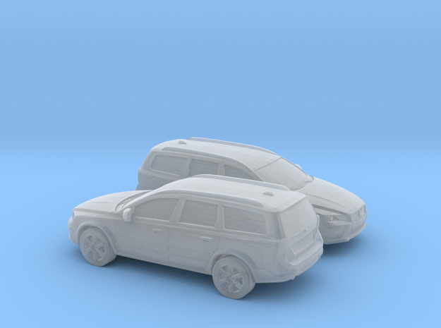 1/120 2X 2015 Volvo XC 70 in Frosted Ultra Detail