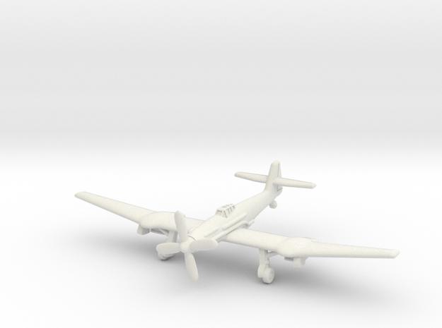 Blohm & Voss BV 155B (landing gear) 1/285 6mm in White Natural Versatile Plastic