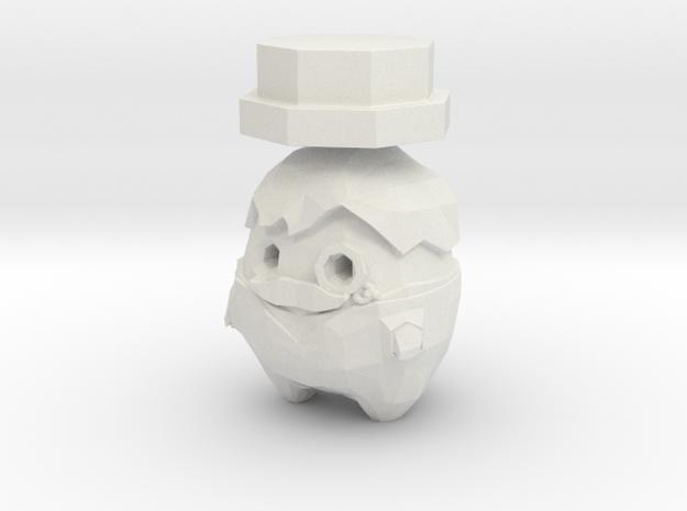 Lord Lemorange in White Natural Versatile Plastic