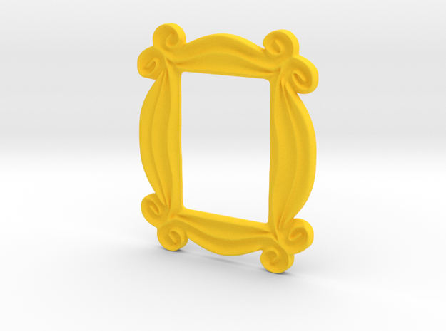 Peep Hole Frame in Yellow Strong & Flexible Polished