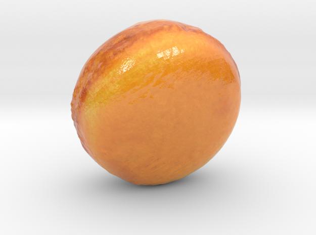 The Orange Macaron-mini in Glossy Full Color Sandstone
