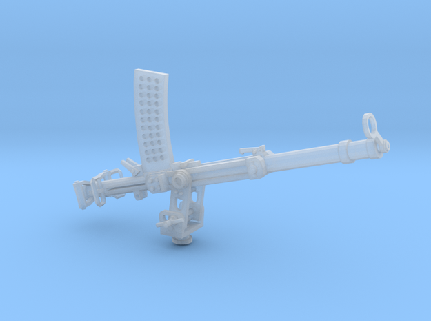 Becker 20mm Cannon 1917 (1:32) on a stand in Frosted Extreme Detail