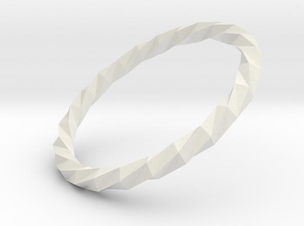 Twistium - Bracelet P=220mm in White Natural Versatile Plastic