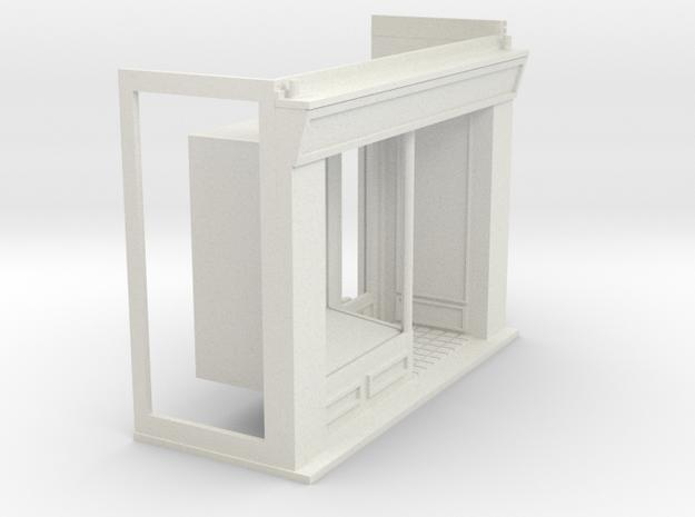 Z-87-lr-brick-shop-base-rd-lj-no-name-1 in White Natural Versatile Plastic