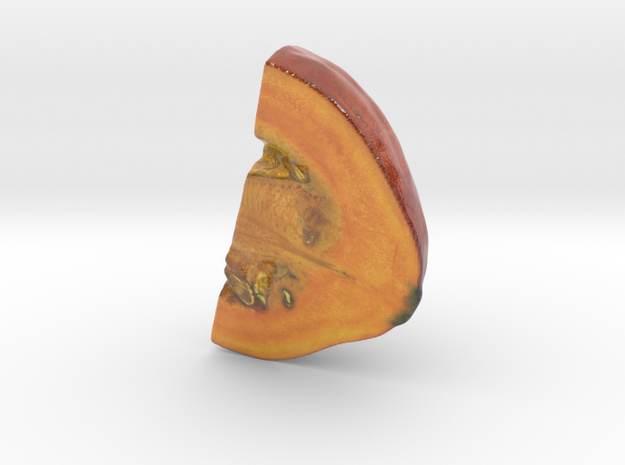 The Pumpkin-2-Quarter-2-mini in Glossy Full Color Sandstone