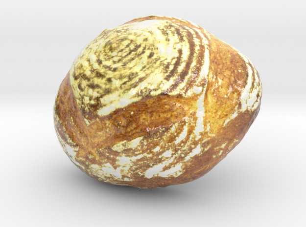 The Pain de Campagne-3-mini in Coated Full Color Sandstone