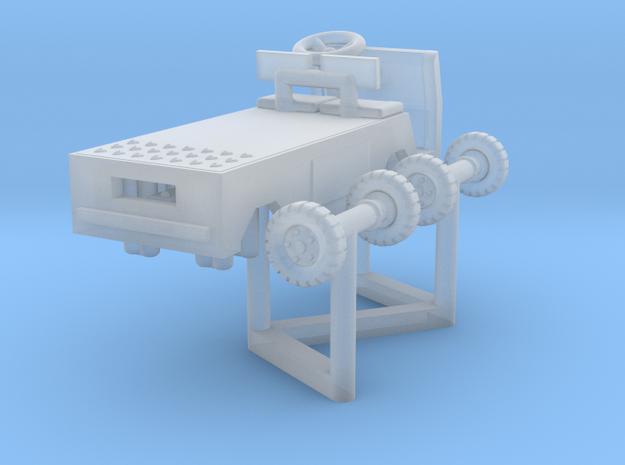 Cushman Titan Cart, N-Scale, rotating wheels 3d printed