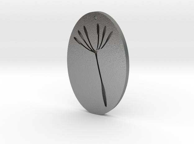 Dandelion in Raw Silver