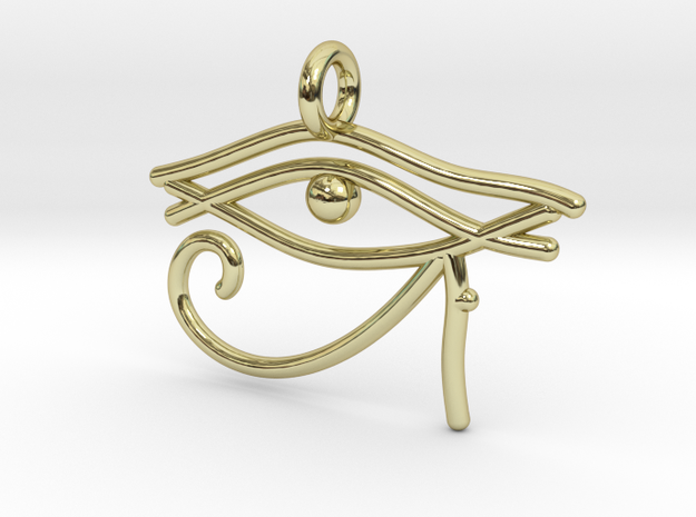 Eye of Ra in 18k Gold Plated