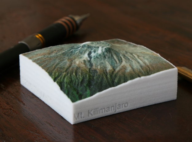 Kilimanjaro, Tanzania, 1:250000 Explorer in Full Color Sandstone