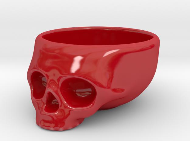 The Cranium Mug 3d printed Alas, racing stripes are not an option.