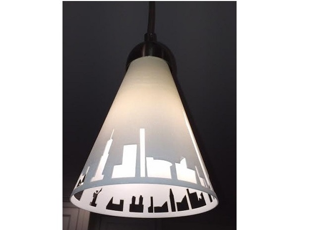 Pendant Light NYC in White Strong & Flexible