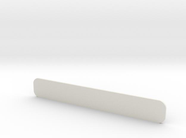Closed Air Intake Windscreen D90 D110 Gelande 1:10 in White Natural Versatile Plastic