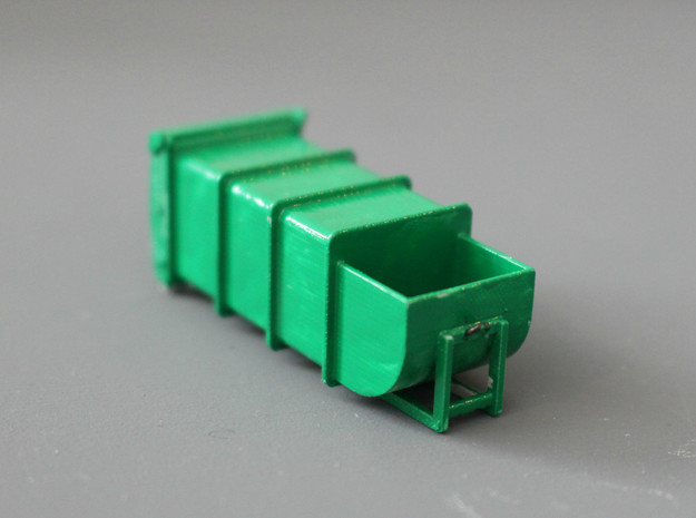 N Scale Waste Compactor Container #2