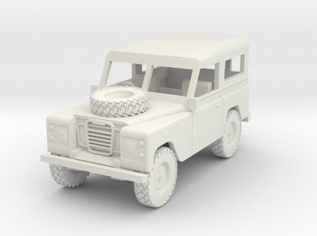 1/72 1:72 Scale Land Rover Hard Top Bonnet Wheel