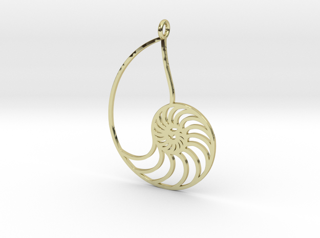 Nautilus in 18k Gold Plated