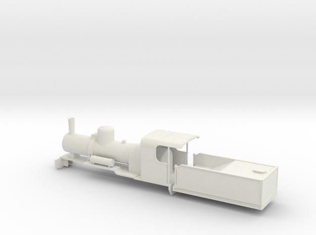 B-64-decauville-16ton-0660-mallet-plus-t-1a in White Natural Versatile Plastic