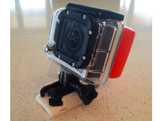 GoPro Camera Mount - Zip Tie Mount 3d printed
