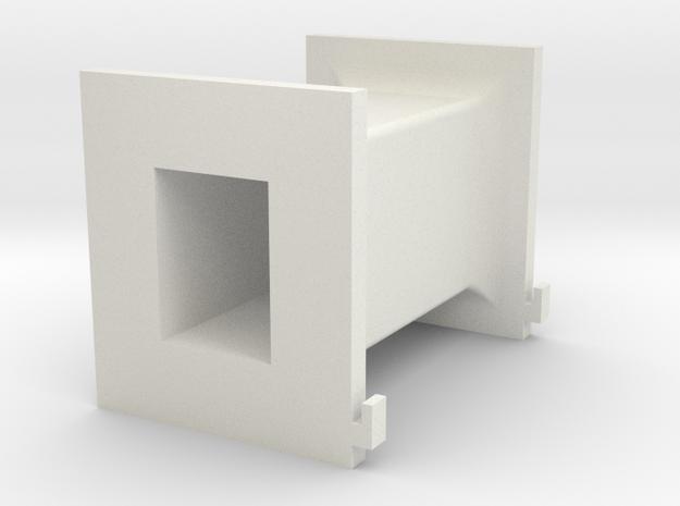 U80 65 32 Secondary Bobbin in White Natural Versatile Plastic