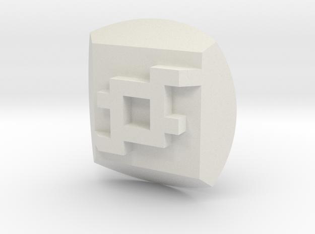 Onua Nuva Symbol in White Strong & Flexible