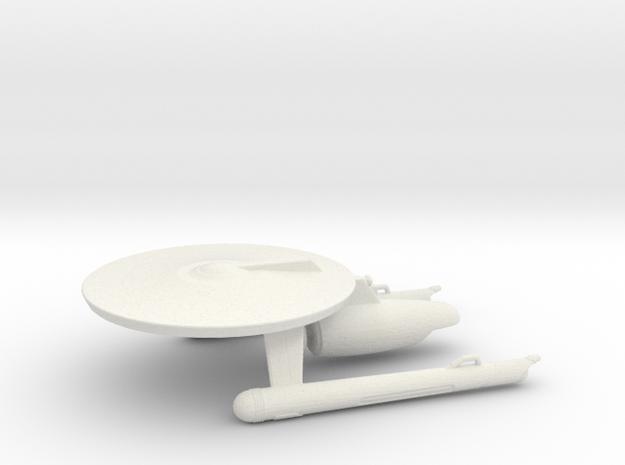 Uss gladiator in White Natural Versatile Plastic