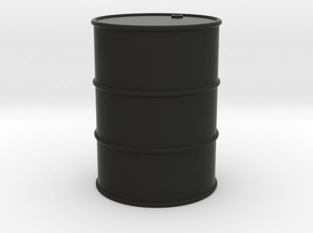 1:10 Scale drum in Black Natural Versatile Plastic