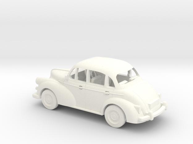 1/48 Scale Morris Minor 3d printed