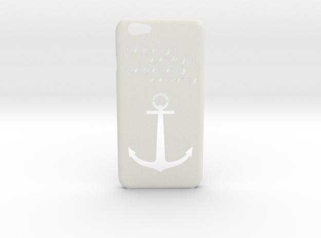 IPhone 6/6S Case Sailor in White Natural Versatile Plastic