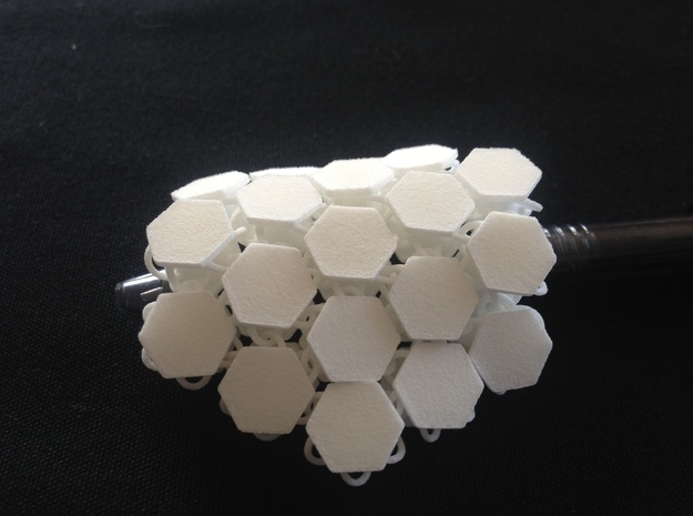 Hex_ conection_prototype.  in White Strong & Flexible