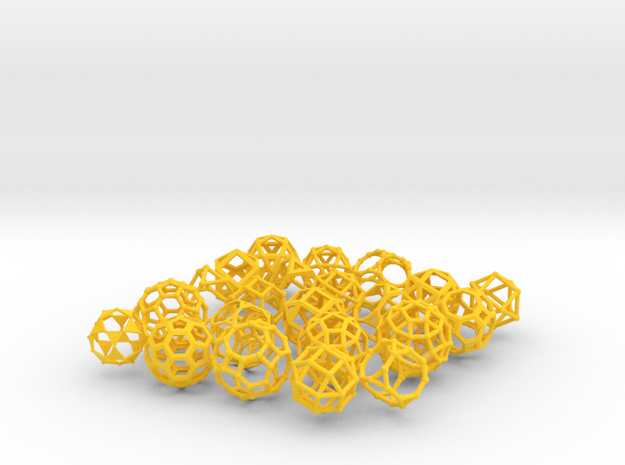 Geometrix Collection 1 3d printed