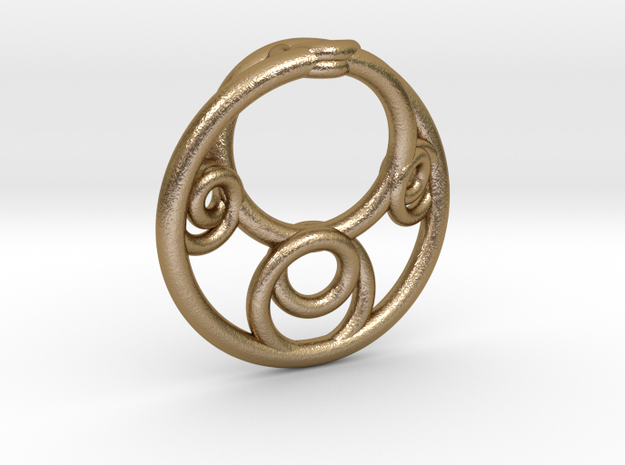 Möbius Fractal Pendant