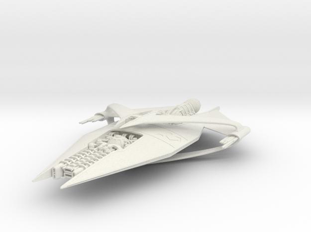 NR Heavy Cruiser in White Natural Versatile Plastic