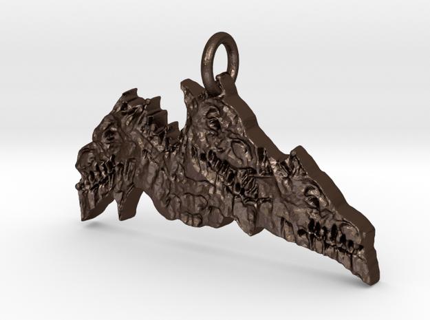Ith in Matte Bronze Steel