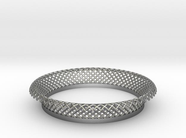 Mercure II in Natural Silver