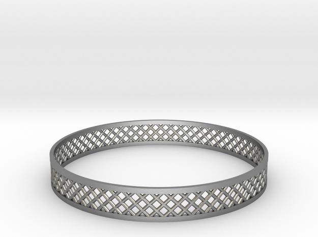 Mercure V in Natural Silver