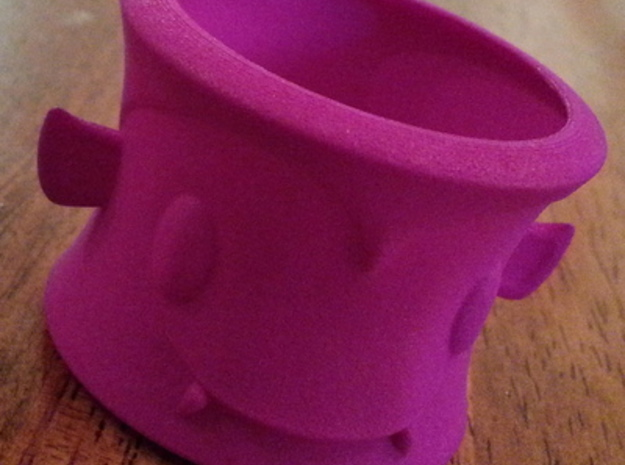 Dracula Tea Light Holder 3d printed