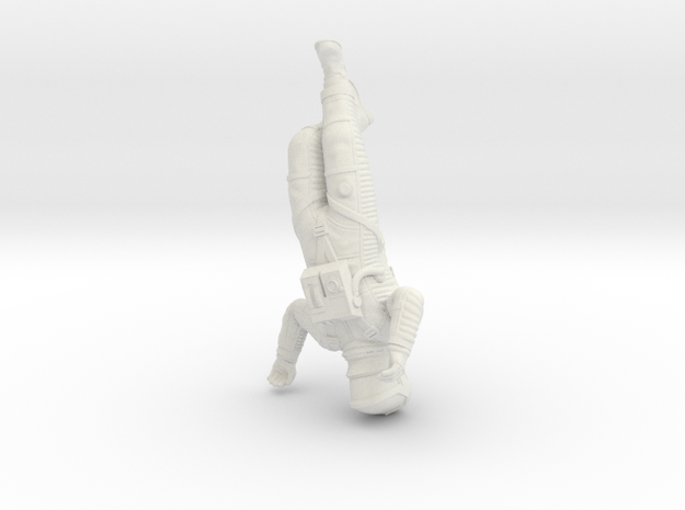 Death 2001 Astronaut (55mm Version) in White Strong & Flexible