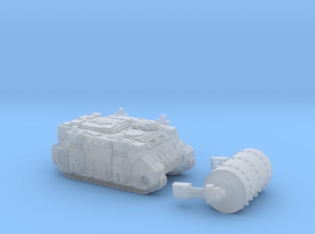 Epic Looted Rhino Tank with Dethrolla 6mm in Smoothest Fine Detail Plastic