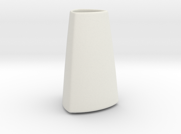 DRAW vase - A ceramic in White Natural Versatile Plastic