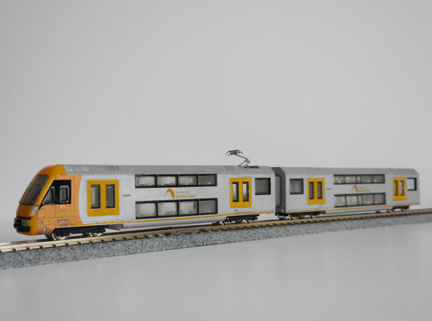 N04A - A-Set Waratah - N Scale in Frosted Ultra Detail